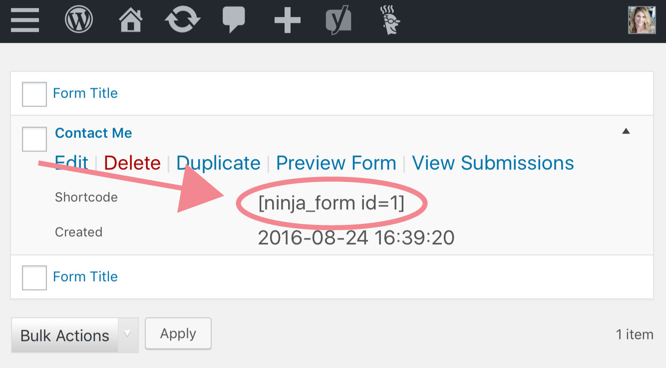 Find out how to create WordPress Contact Form to update your WordPress Contact Us page on Jennifer-Franklin.com.