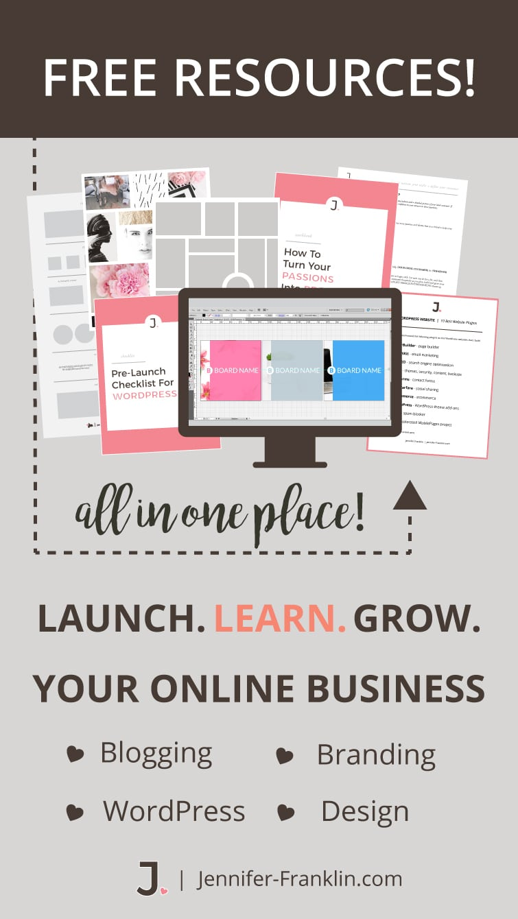 Website solutions for time-crunched entrepreneurs. I help you take your website from frustrating to FABULOUS without stressing out over design + tech.  You get the tools, training and support you need to grow your business. Jennifer-Franklin.com