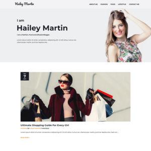 Ready Made Website | Personal Blog | Lifestyle Blog | Fashion Blog | Food Blog | Jennifer-Franklin.com