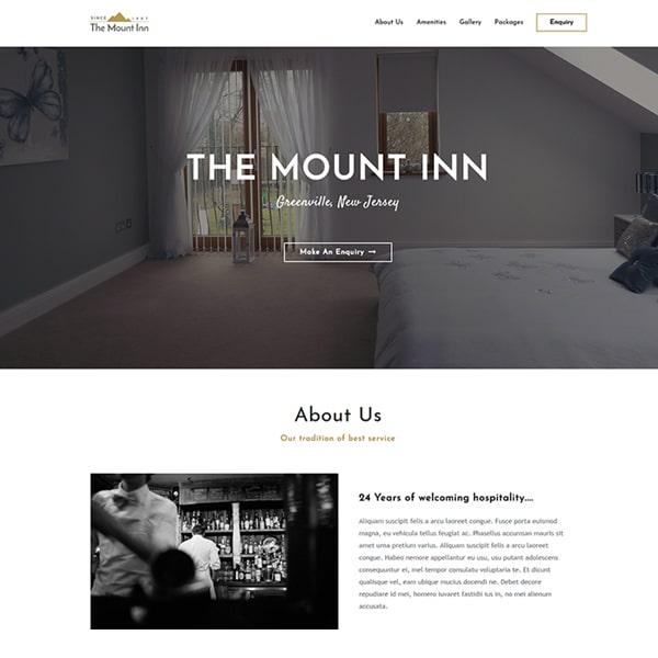 Ready Made Website   Hotel and BnB Website   Jennifer-Franklin.com
