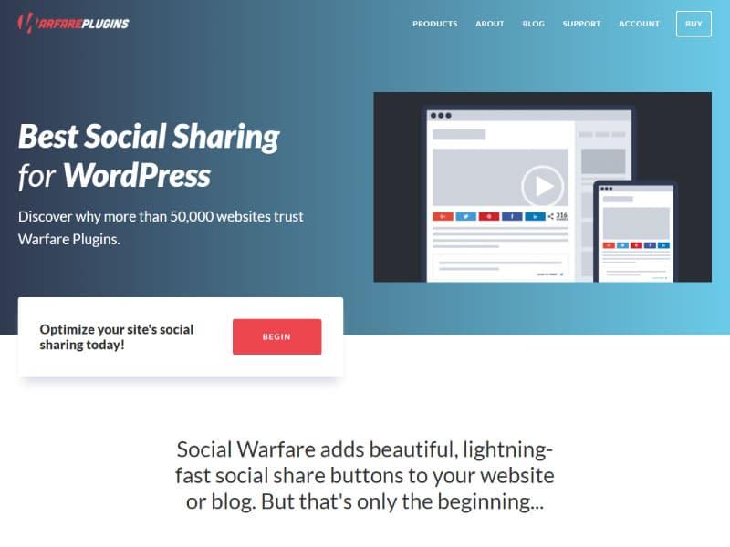 WordPress Plugin | Social Warfare | Jennifer Franklin
