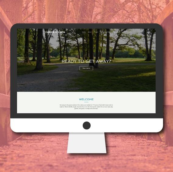 WordPress Website Design   Cabin Rental Booking   Jennifer-Franklin.com