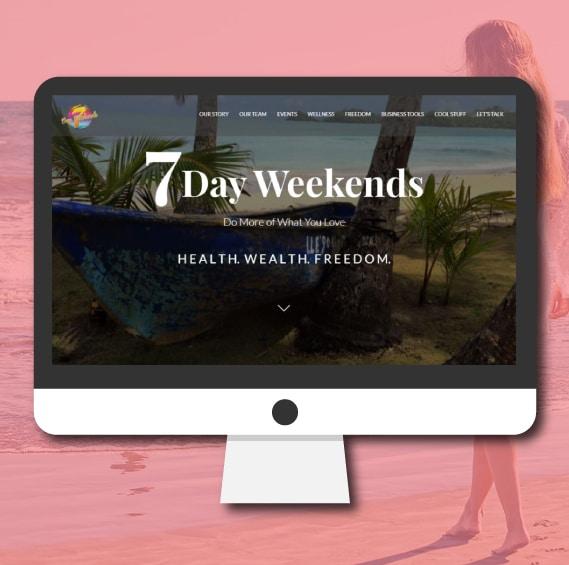 WordPress Website Design   Health Wellness Lifestyle Blog   Jennifer-Franklin.com