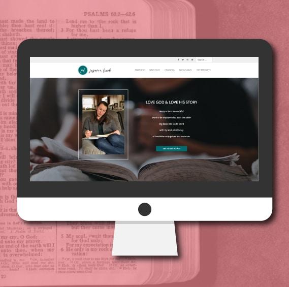 WordPress Website Design   Inspirational Blogger   Jennifer-Franklin.com