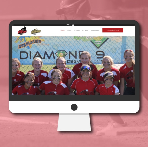 WordPress Website Design   Iowa Premier Fastpitch   Jennifer-Franklin.com