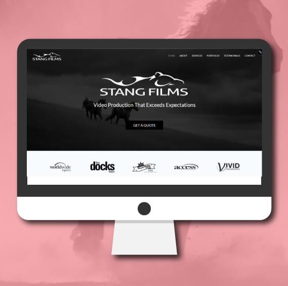 WordPress Website Design   Stang Films   Jennifer-Franklin.com
