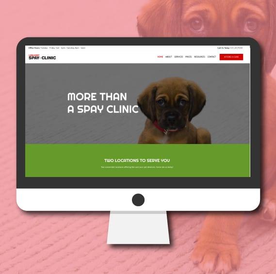 WordPress Website Design   Veterinary Clinic   Jennifer-Franklin.com